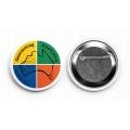 Geocaching Australia 57mm Metal Button