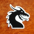 dragonZone Sticker