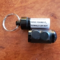 Magnetic Black Aluminium Micro Cache with Log Sheet