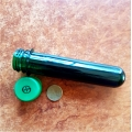 10 x Preform Tube (Test Tube) Dark Green