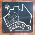 Geocaching Australia Sticker (50mm x 50mm)