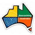 Geocaching Australia Logo Sticker (Die Cut)