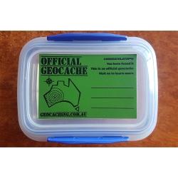 Geocaching Australia Official Geocache Sticker