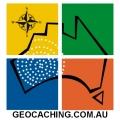 Geocaching Australia Window Sticker (Pack of 3)