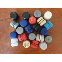 Upcycled Bottle Cap Micro Geocache (Pack of 20)
